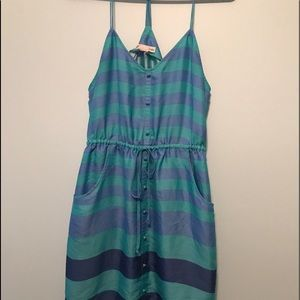 American Eagle T-Back Striped Dress